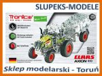 TRONICO 09500 - CLAAS AXION 850 with trailer - 1:64 (588 części)